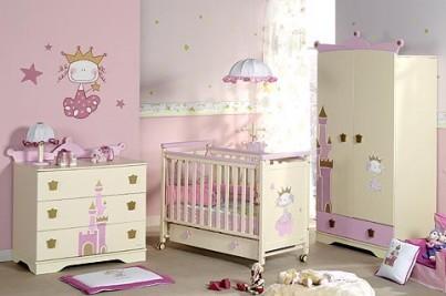 Los muebles básicos para la habitación de un bebé