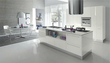 Cómo decorar una cocina abierta