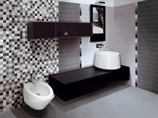 Decorar Un Baño Gris:De qué color decorar el baño?