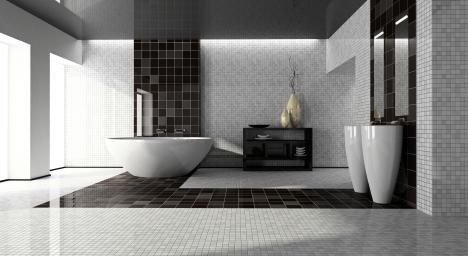 Cómo decorar cuartos de baño modernos