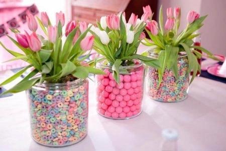 Decorar la casa con flores