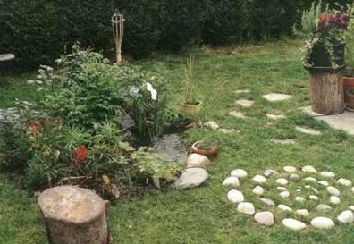 C mo decorar el jard n de una casa apareada - Como decorar jardines de casas ...
