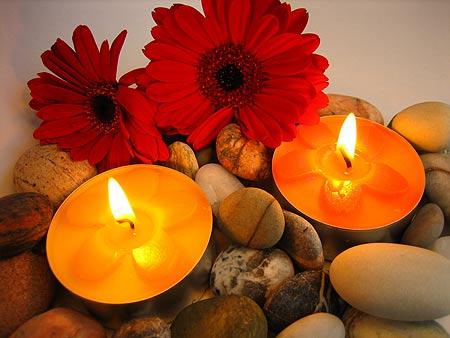 Las velas, como elemento de decoración