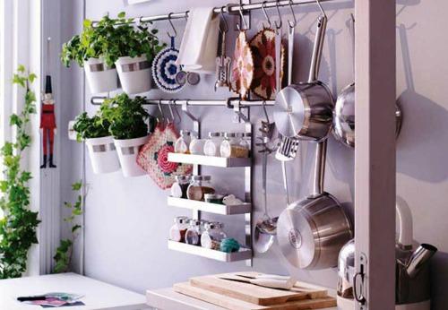 Ideas para aprovechar el espacio de la cocina