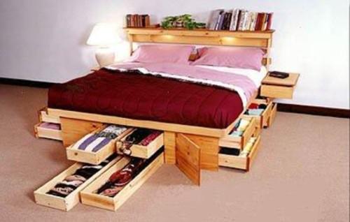 Cómo aprovechar el espacio en el dormitorio