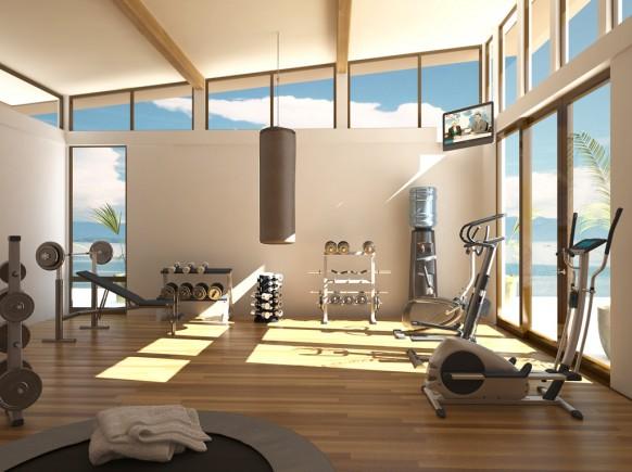 Cómo organizar un gimnasio en casa