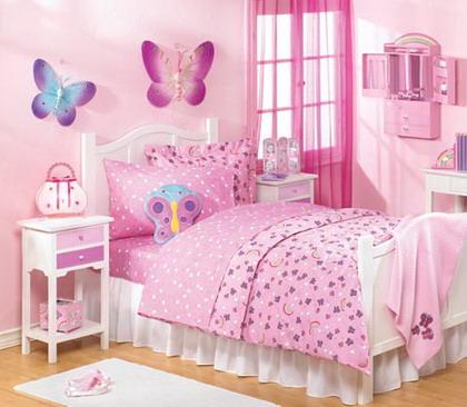 Consejos para decorar una habitación para niñas