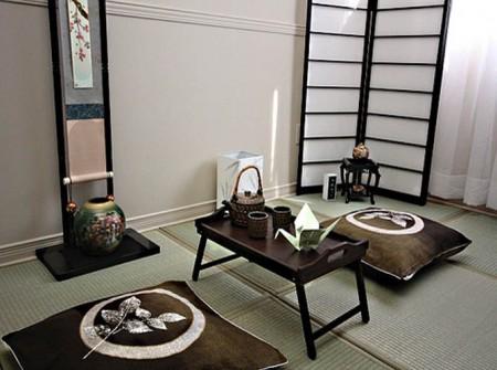 ¿Un salón de estilo japonés?