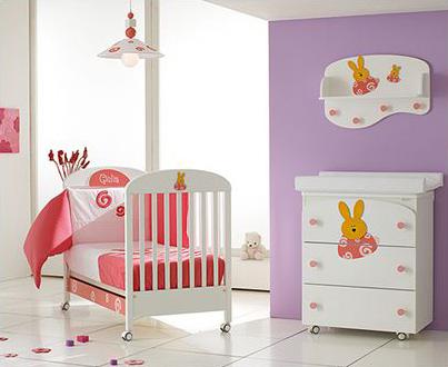 Cómo escoger los muebles de tu bebé