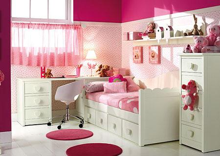 Los mejores muebles para la habitaci n de una ni a for Muebles habitacion infantil nina