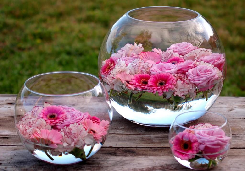 Doos interiorismo rincones con flores - Decoracion de peceras ...