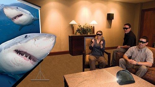 Ventajas de tener proyector 3D en casa